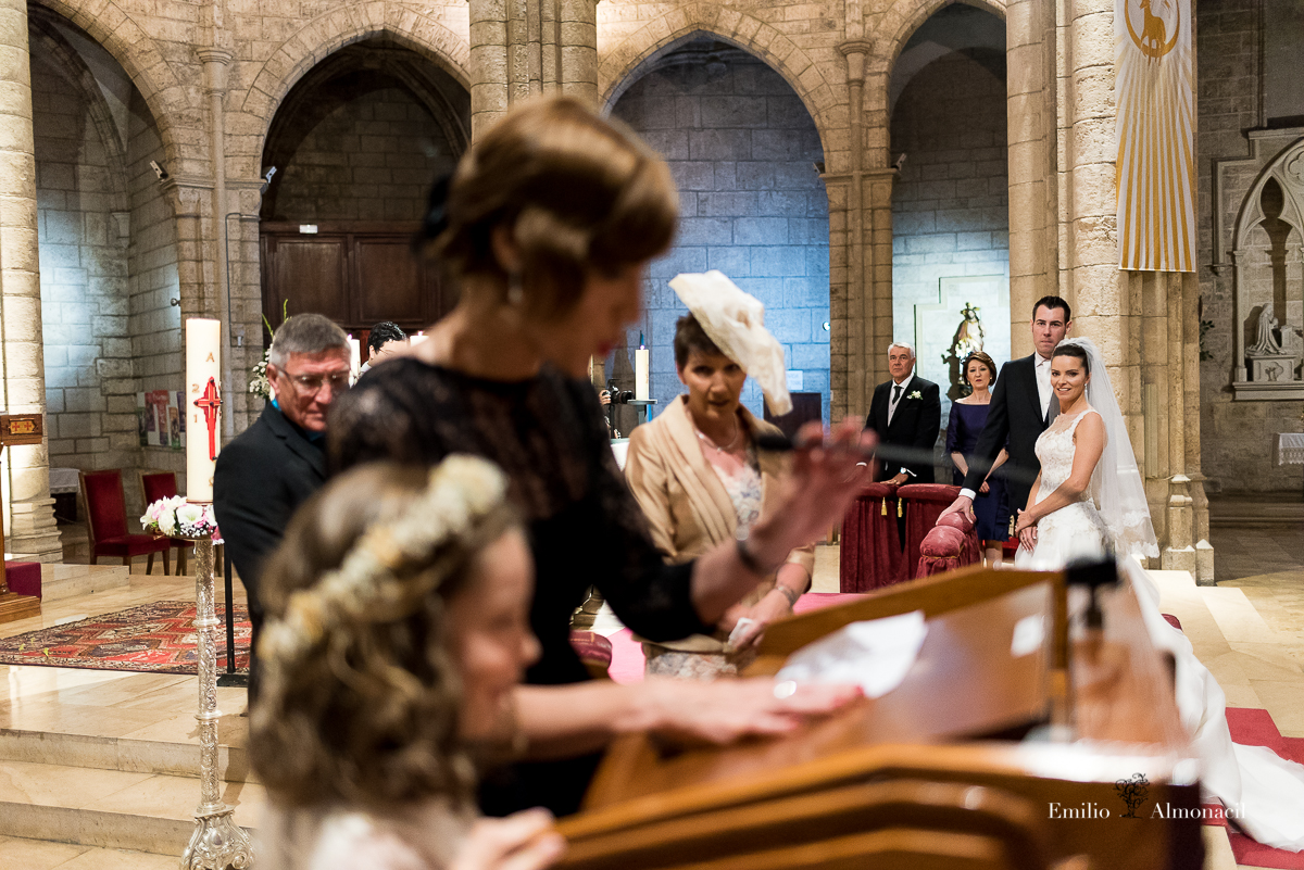 Boda en iglesia Santa Catalina, Fotógrafo de bodas en Valencia