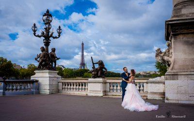 Una Postboda en París