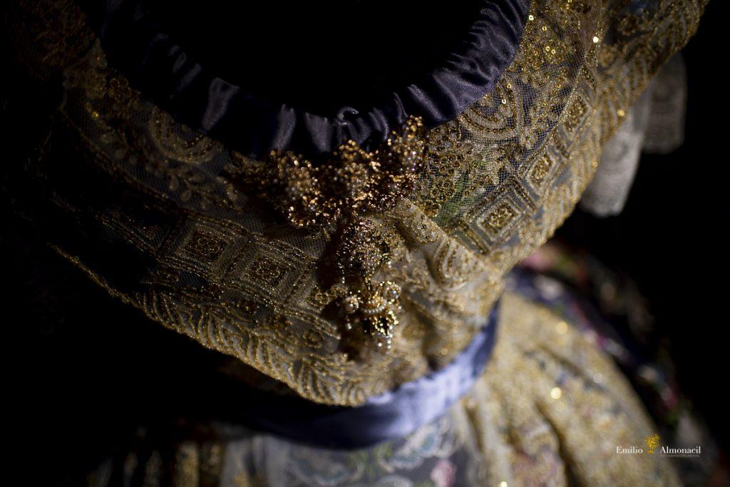 Detalles traje de Fallera