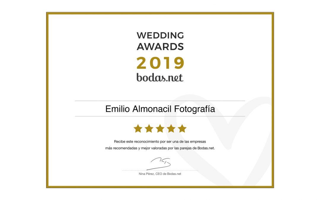 Wedding Awards 2019 Bodas.net