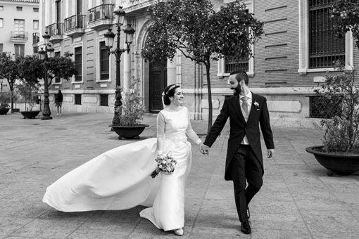 fotografia de boda elegante