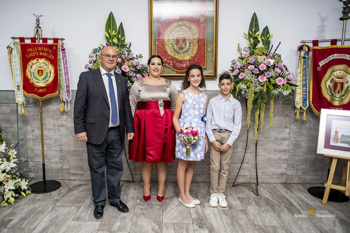 Proclamación en Turis