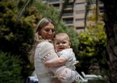 Bautizo en Valencia, fotografía de familia.